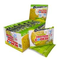 Низкокалорийное протеиновое печенье Bombbar Фисташка (40г)
