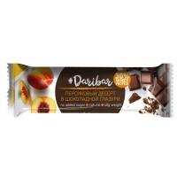 Персиковый десерт в шоколадной глазури (40г)